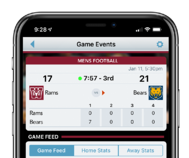 ScoreVision Fan App with Scores