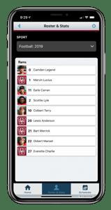 ScoreVision Fan App Rosters & Stats