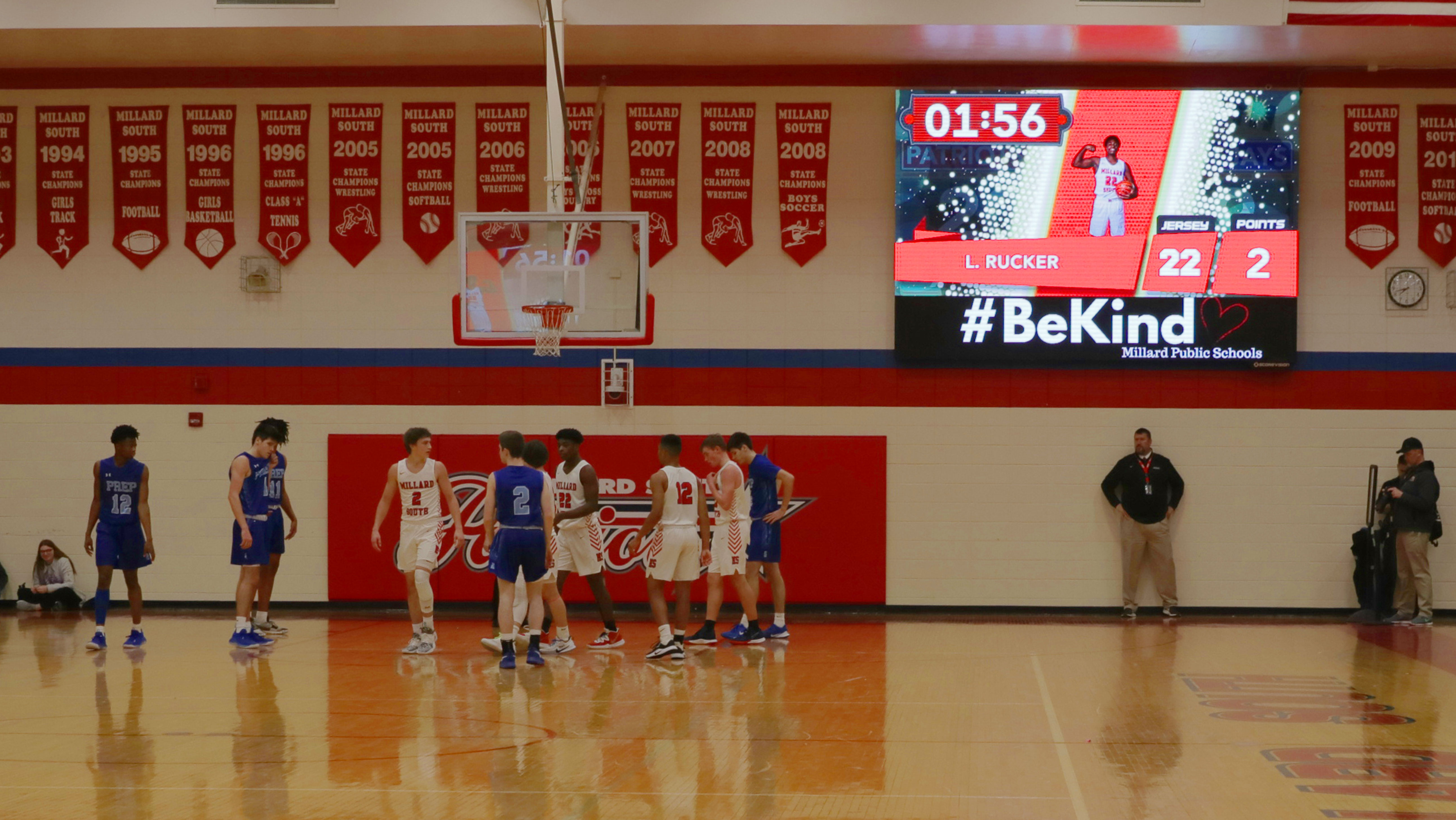 Millard-South-1410-Basketball-Video-Scoreboard-with-Player-Accolade