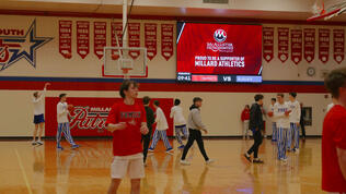 Millard-South-1410-Basketball-Video-Scoreboard-with-Pregame-McAllister-Orthodontics-Ad