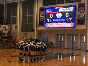 ScoreVision Volleyball Video Scoreboard