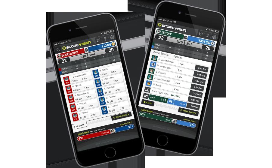 ScoreVision Fan App