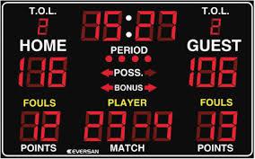 Traditional LED Multisport Scoreboard