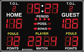 Traditional LED Multisport Scoreboard