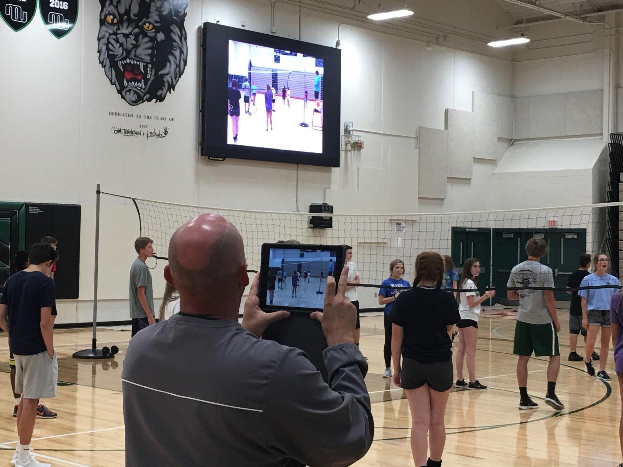 Millard West Gym Class Live Video Feed