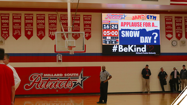 ScoreVision Displays at Millard South High School