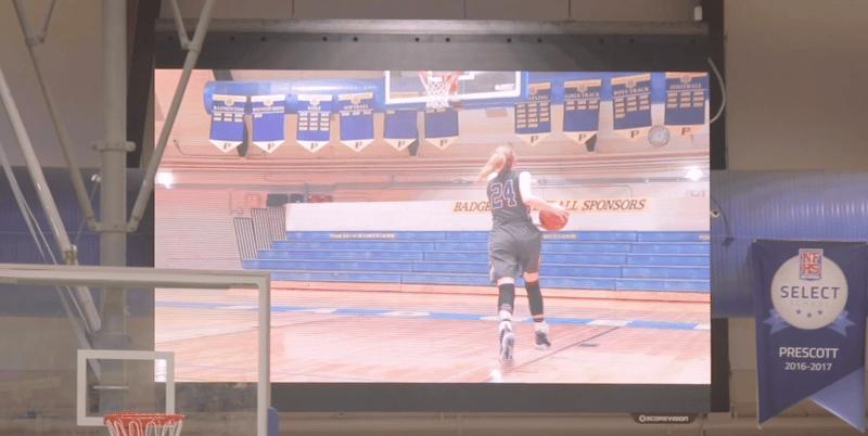 Prescott Live Video on Display