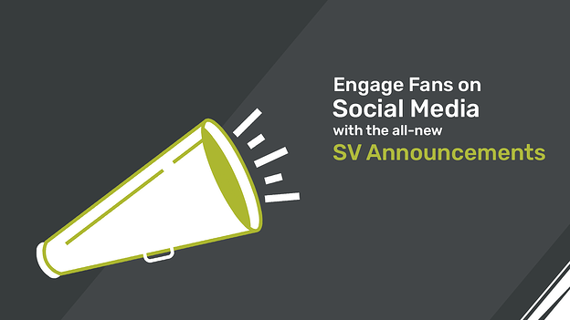 SV Announcements for Sports Fan Engagement on Social Media