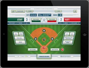Baseball Scorekeeper iOS App