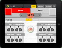 Rugby Scorekeeper Web App