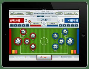 Soccer Scorekeeper App