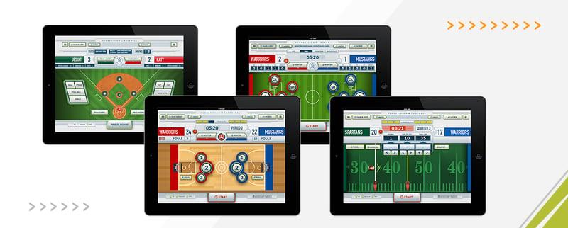 ScoreVision Scorekeeper Apps