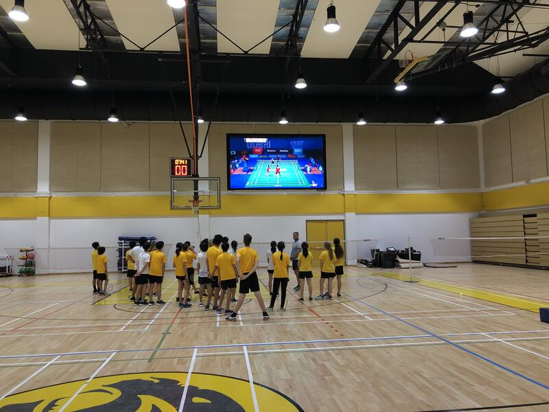 Thailand Badminton Skills Video on Display