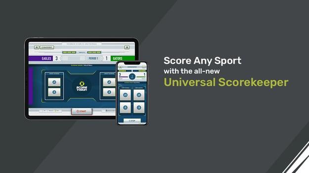 ScoreVision Universal Scorekeeper App