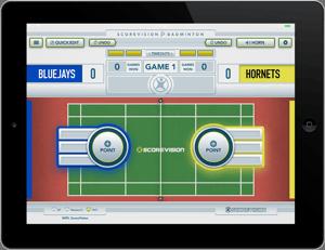 Badminton Scorekeeper iOS App