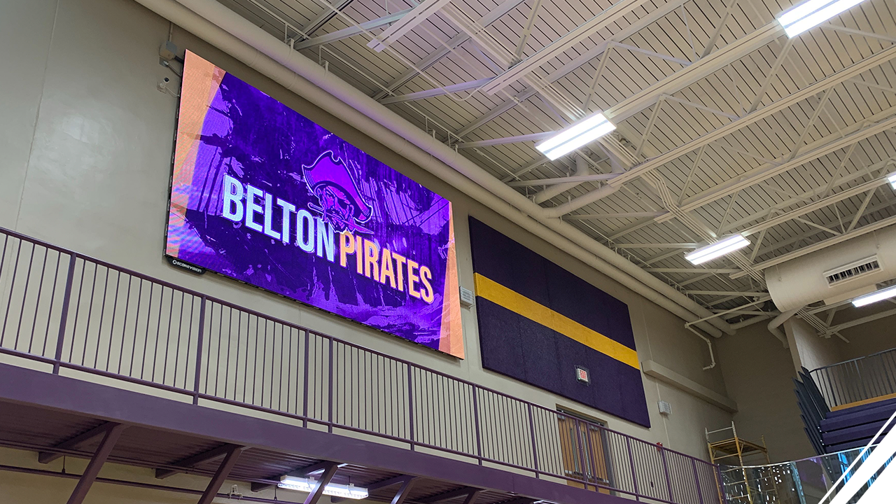 Belton High School Joins the ScoreVision Family