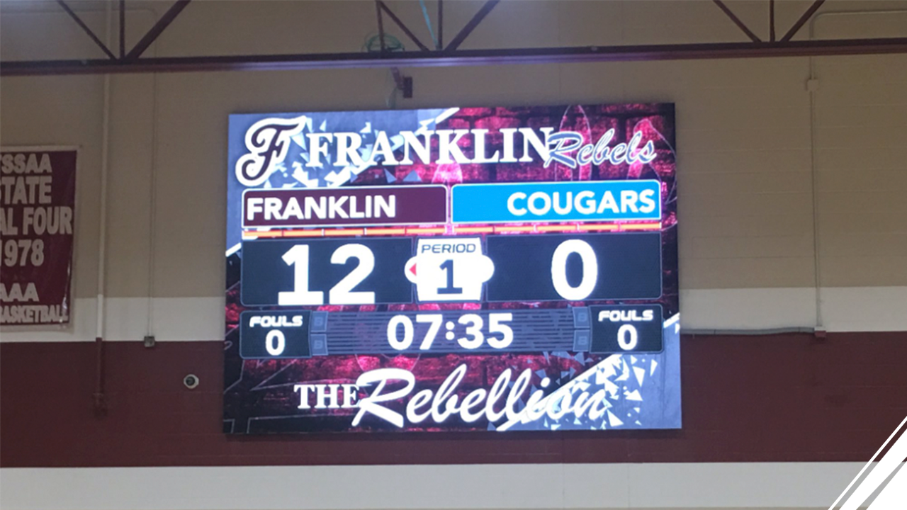 Franklin High School Joins the ScoreVision Family