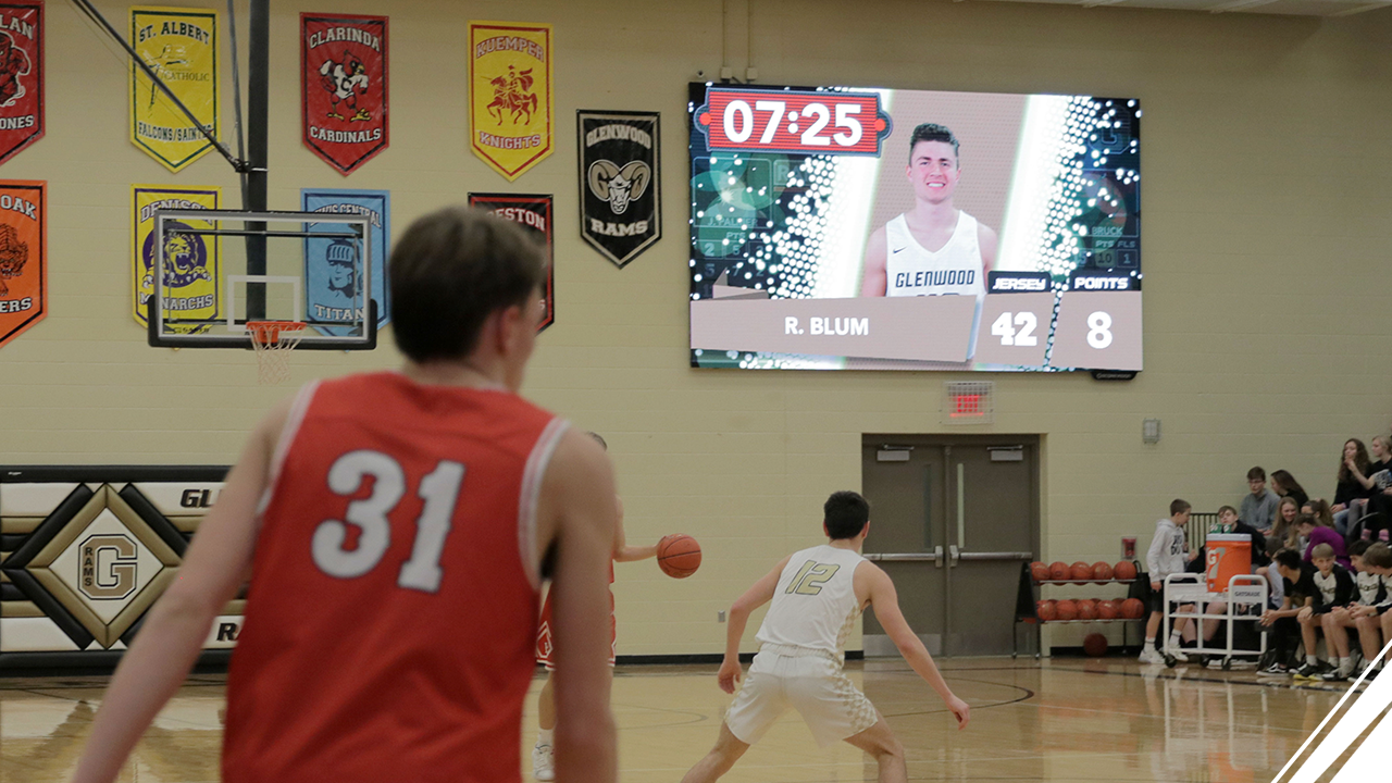 How to Bring a College-level Fan Experience to High School Gym: ScoreVision Spotlight on Glenwood High School