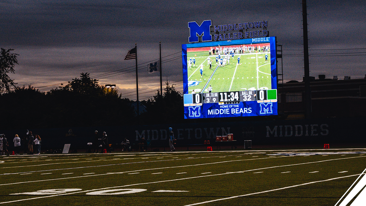 Middletown High School Chooses ScoreVision Software Across Campus