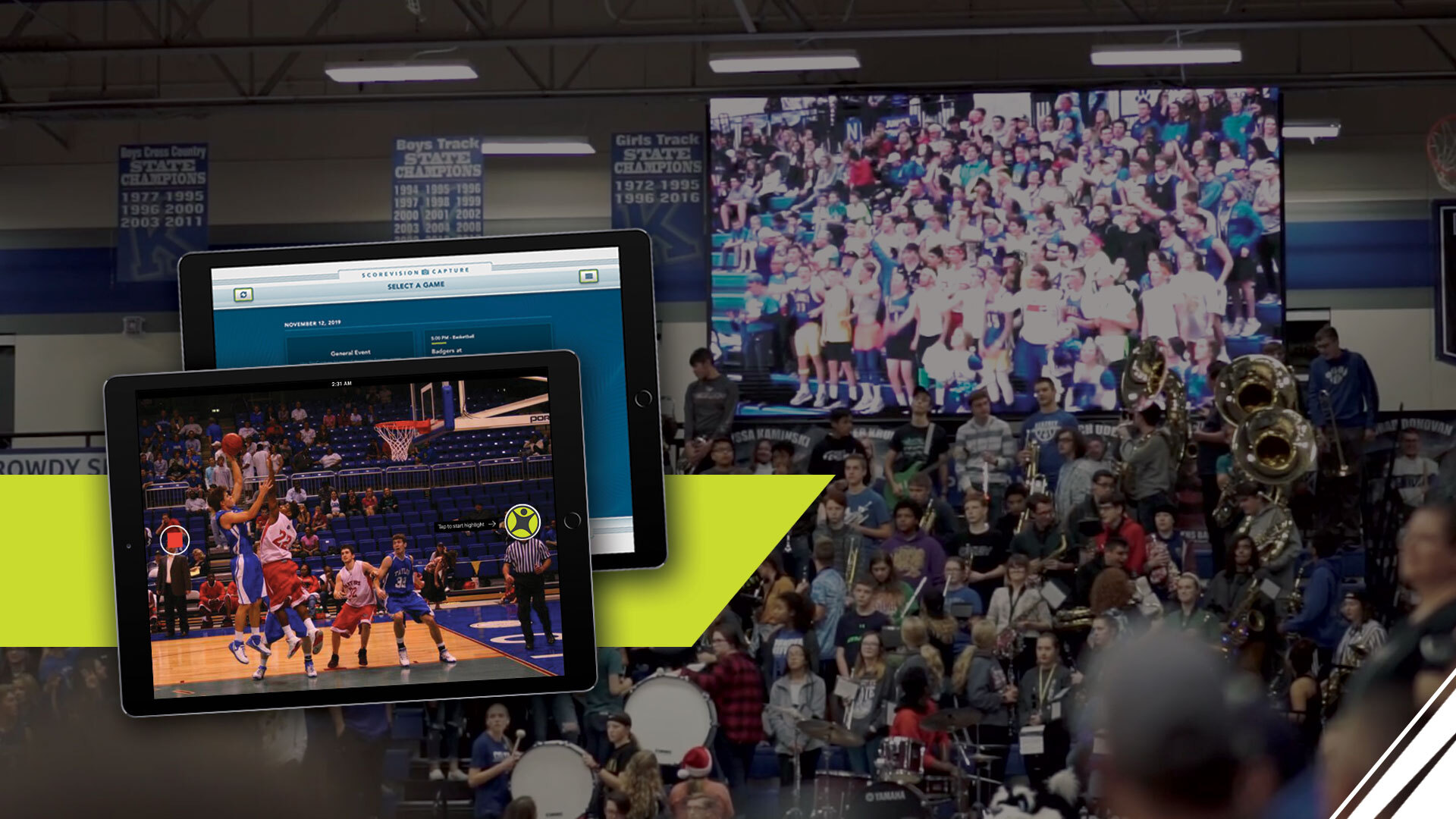 ScoreVision Launches SV Capture App to Bring User-friendly Video Features to Schools