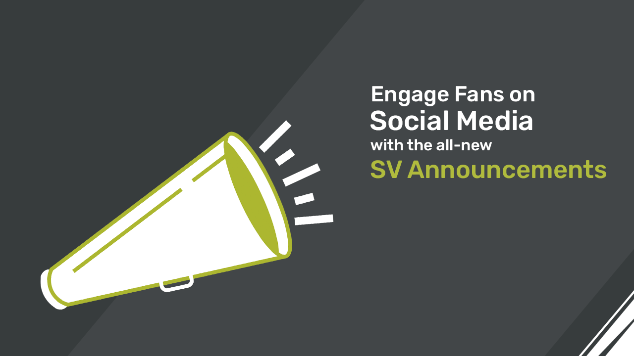 Engage Fans on Social Media with New ScoreVision Announcements Tool