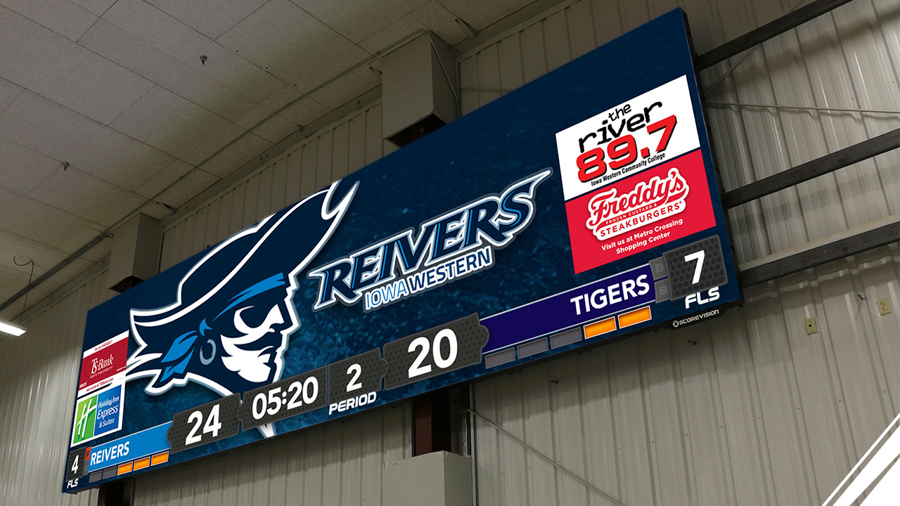 ScoreVision Partners with NJCAA as Official Scoreboard, Video Display, and Scoring Software Partner
