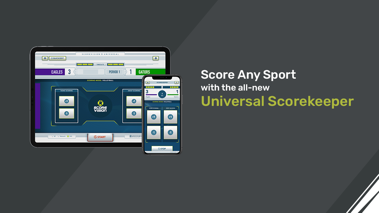 Score Any Sport With The New Universal Scorekeeper App