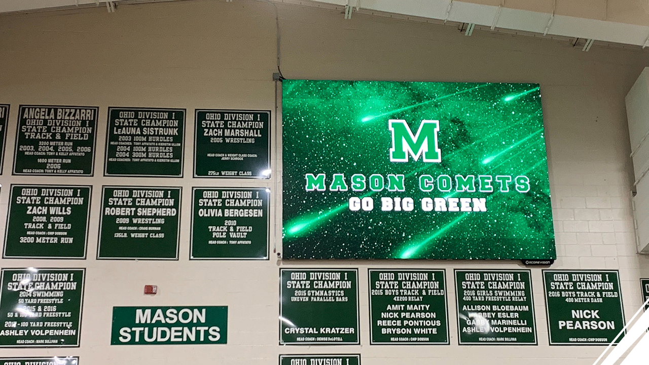 William Mason High School Joins the ScoreVision Family